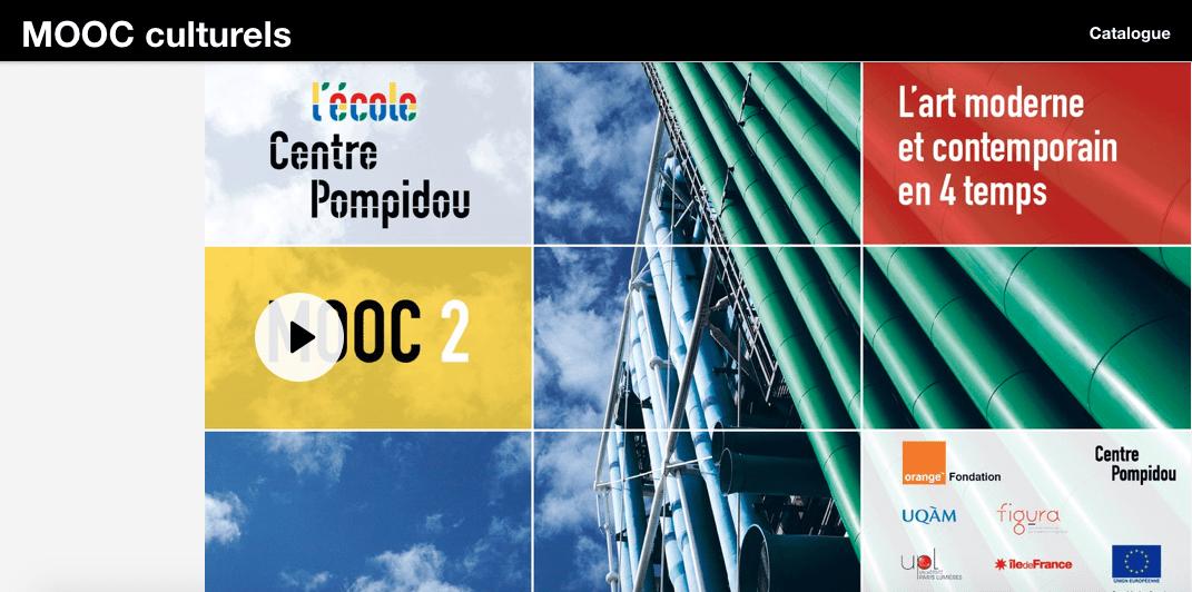MOOC Culturels du Centre Pompidou